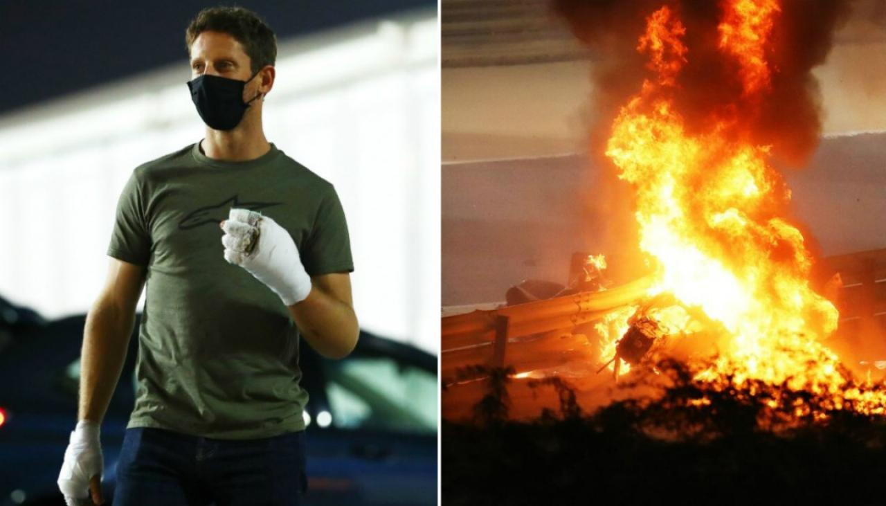 Romain Grosjean made peace with belief he would die in Bahrain crash